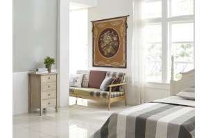 Petit Bouquet en Jaune French Tapestry