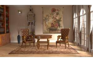 Bouquet Tulipe Clair French Tapestry Wall Hanging