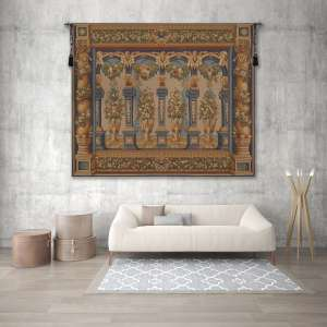Loggia Columns European Tapestry Wall Hanging