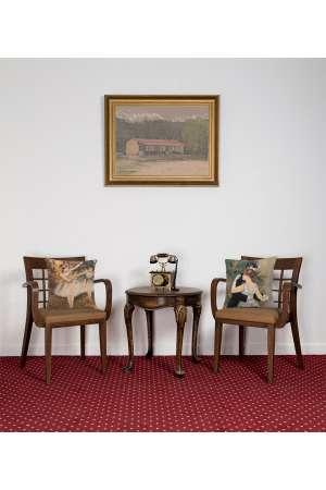 Degas Deux Dansiuses Small European Cushion Covers