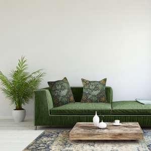 Arabesques w/Orange Tree Blue Decorative Tapestry Pillow