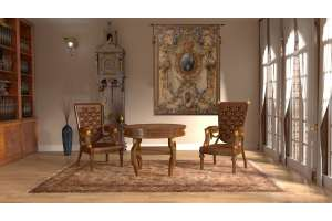 Grandes Armoiries Creme I French Tapestry