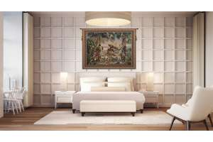 King Borne Flanders Tapestry Wall Hanging
