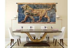 Lion II Darius Flanders Tapestry Wall Hanging
