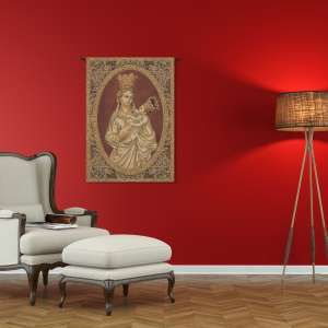Madonna from Trapani Italian Tapestry