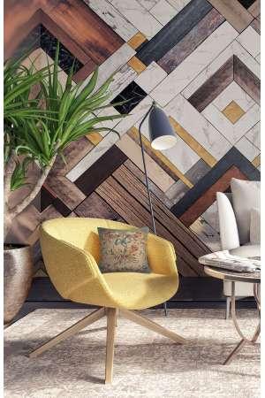 Diane Vert French Tapestry Cushion