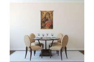 Greek Madonna Italian Tapestry