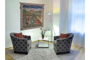Duke De Berry Belgian Tapestry