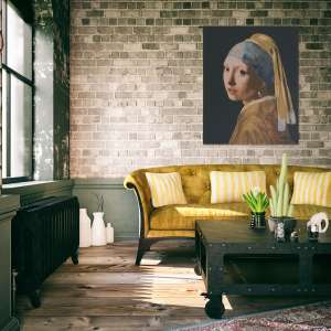 The Girl with the Pearl Earring I Belgian Tapestry