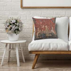 The Taste 1 Small Decorative Tapestry Pillow