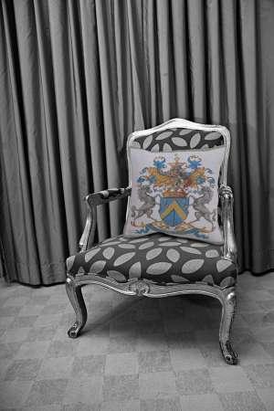 Blason Belgian Tapestry Cushion