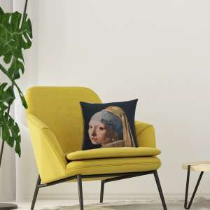 Girl With The Pearl Earring European Cushion Covers