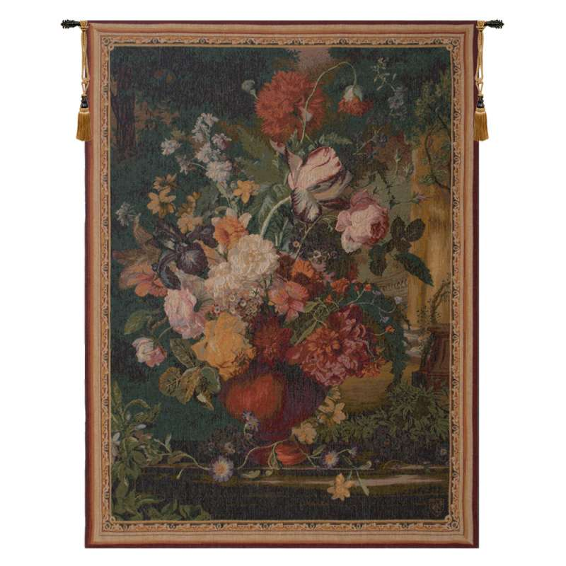 Bouquet Flamand French Tapestry Wall Hanging