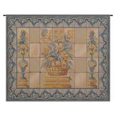 Azulejos French Tapestry Wall Hanging