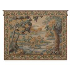 La Foret de Marly French Tapestry Wall Hanging