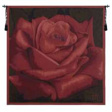 Rose Rouge French Tapestry