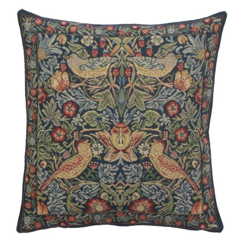 Strawberry Blue European Cushion Covers
