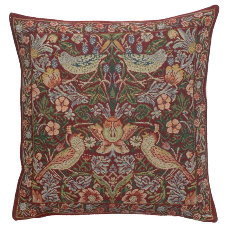 Strawberry Red European Cushion Covers