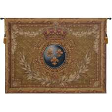 Courronne Empire French Tapestry Wall Hanging