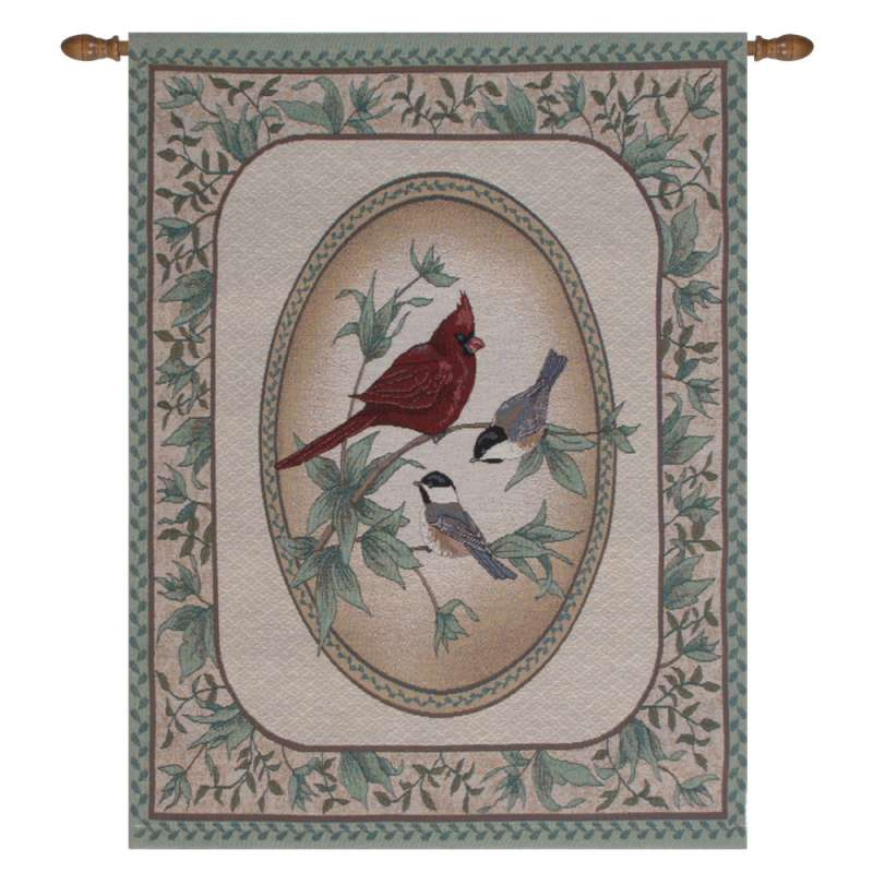 Birds of a Feather I Fine Art Tapestry