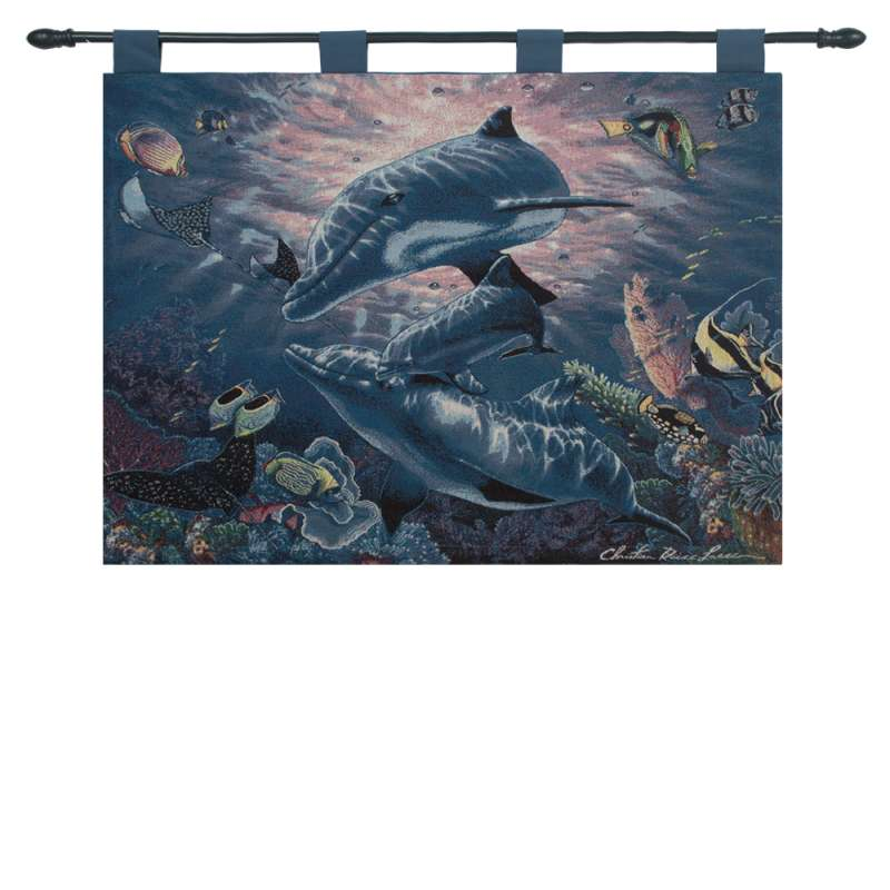 A Perfect World Fine Art Tapestry