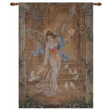 Angel of Light I Fine Art Tapestry