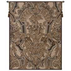 Brocade Flourish French Tapestry Wall Hanging