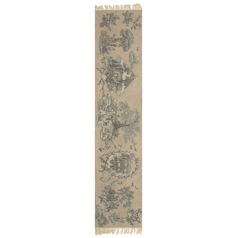 Enchanted Scene Tapestry Table Runner