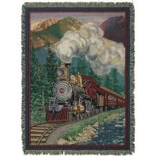 Smoky Express Tapestry Throw