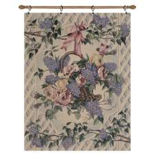 Lavender Bouquet Fine Art Tapestry