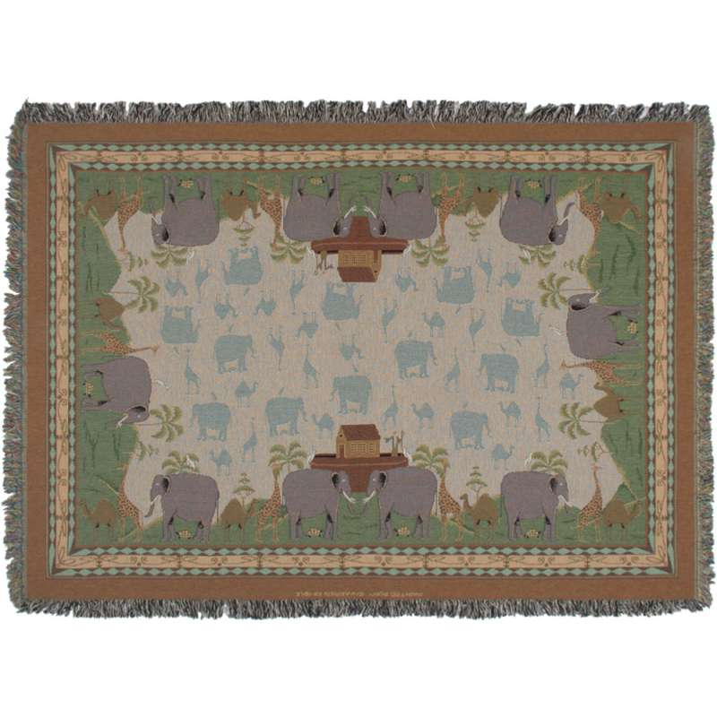 Two by Two Tapestry Throw