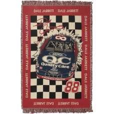 Dale Jarrett Tapestry Throw