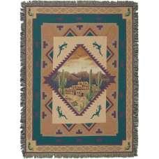 Sedona Sunset II Tapestry Throw