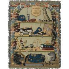To Serve and Protect Tapestry Throw