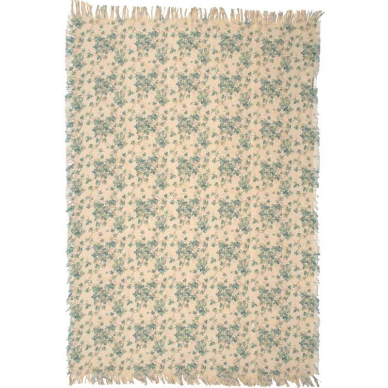 Hearts and Ivy Tapestry Throw