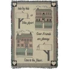 Side By Side Tapestry Throw