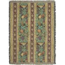 Fruit Columns Tapestry Throw