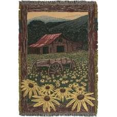 Black Eyed Susan II Tapestry Throw