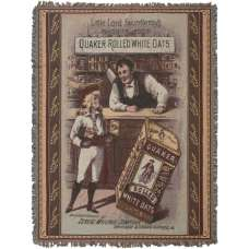 Little Lord Fauntleroy's Favorite Food Tapestry Throw