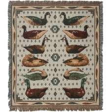 Duck Duck Duck Tapestry Throw
