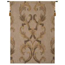Leaf Brocade French Tapestry Wall Hanging
