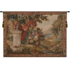 Bouquet au Drape No People French Tapestry
