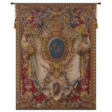 Coat of Arms A.K. Vertical French Tapestry