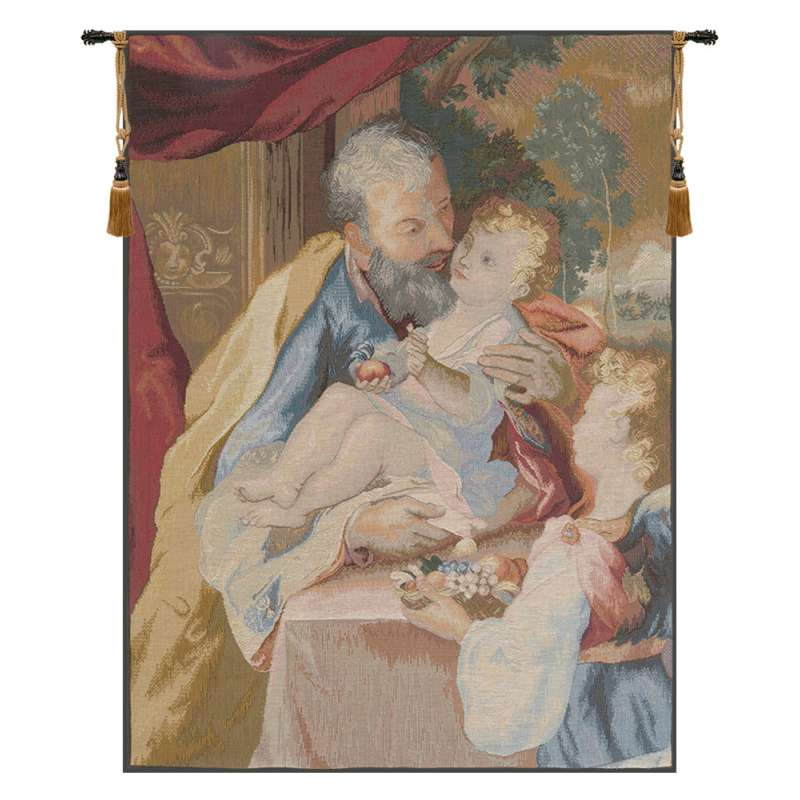 Joseph to the Child French Tapestry
