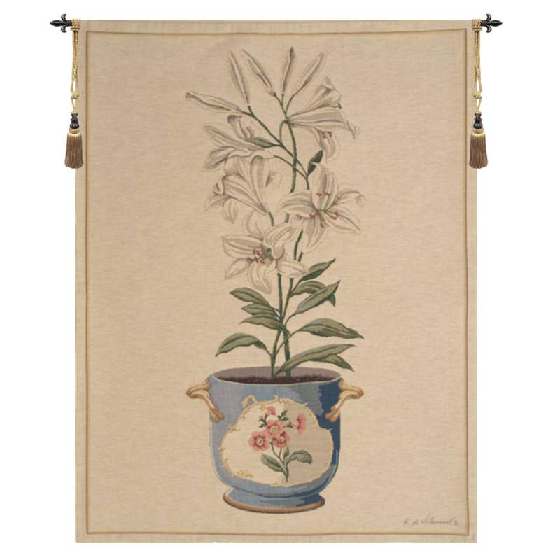 Lilly Small European Tapestry Wall Hanging
