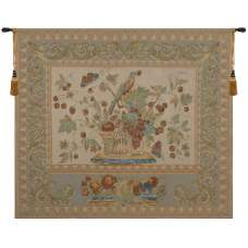 The Jay in Beige European Tapestry