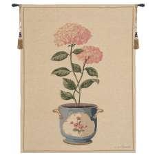 Pink Hydrangea European Tapestry