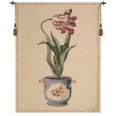 Red Tulip II European Tapestry