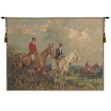 Equestrian Survey European Tapestry