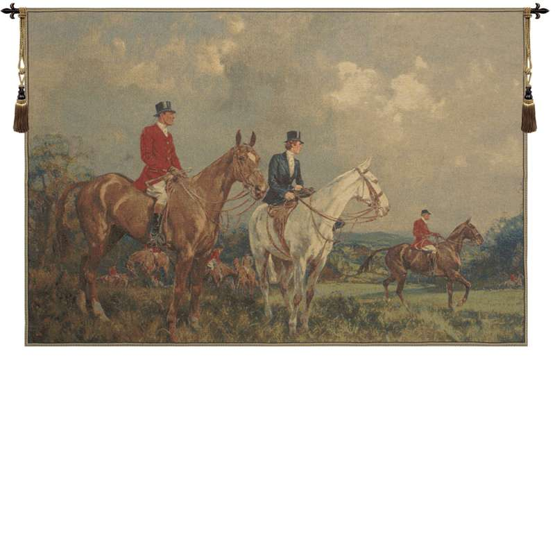 Equestrian Survey Large European Tapestry